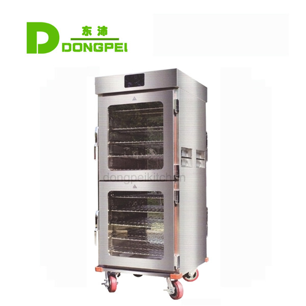 4 doors food warmer cart