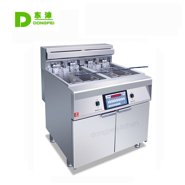2 Tank Electric Digital Fryer