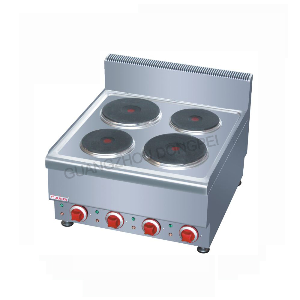 Countertop Electric 4 Plate Cooker Round Plate Cooker